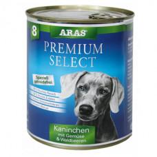 ARAS PREMIUM SELECT консервы для собак «Кролик с овощами и лесными ягодами» 820 г